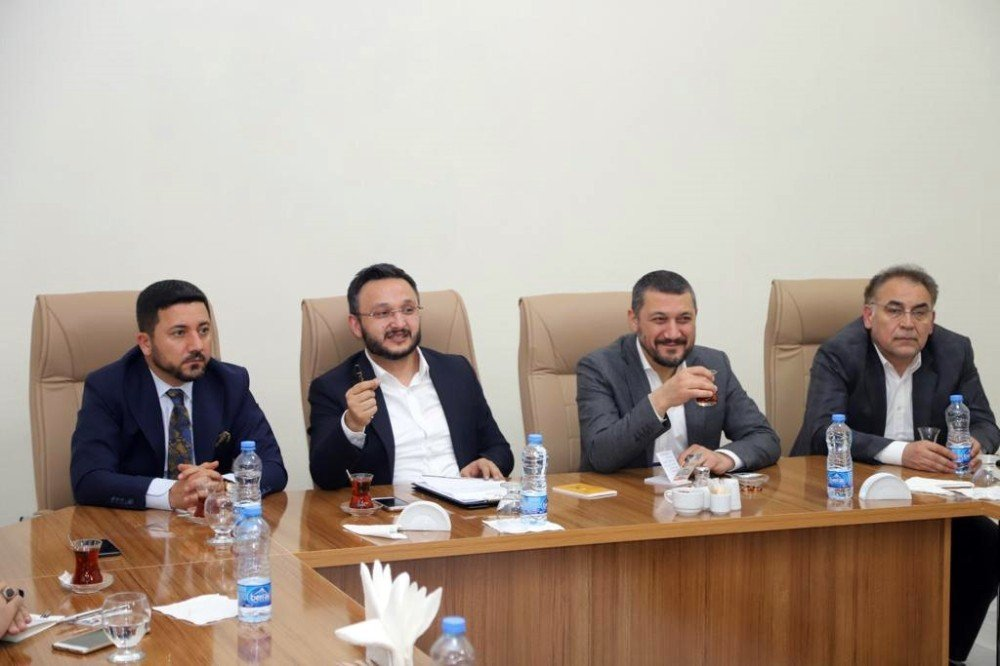 Ak Partili Belediye Başkanları İstişare Toplantısında Bir Araya Geldi