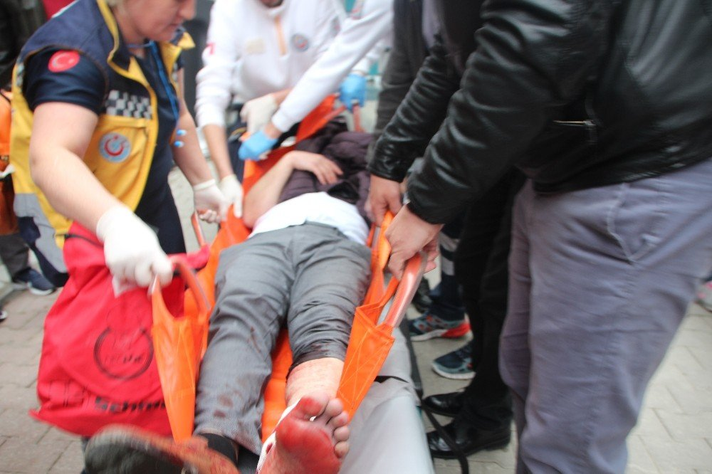 Bilecik'te Alacak Verecek Davasında 3 Kişi Yaralandı