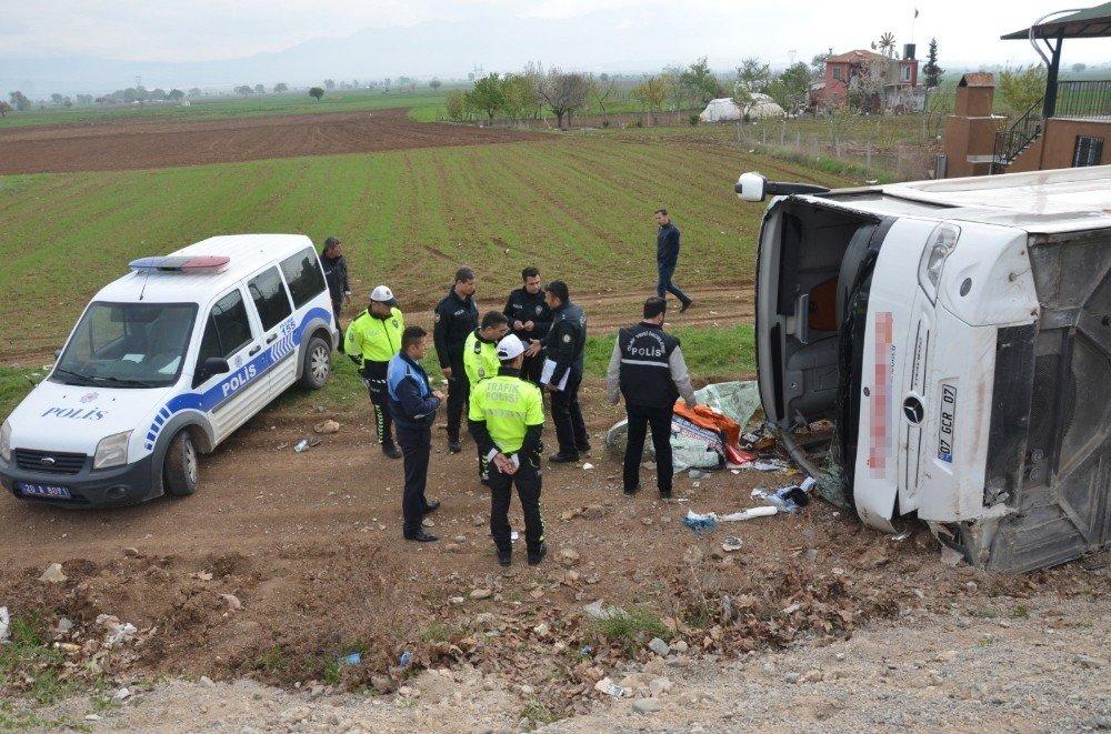 Denizli'de Kaza Yapan Otobüsün, Öğrencileri Pamukkale-izmir-çanakkale Gezisine Götürdüğü Ortay Çıktı