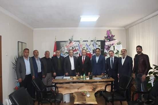 Mhp İl Başkanı Karataş'tan Uzundere Belediye Başkanı Aktoprak'a Ziyaret