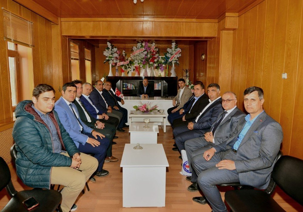 Sendika Başkanlarından Belediye Başkanlarına Ziyaret
