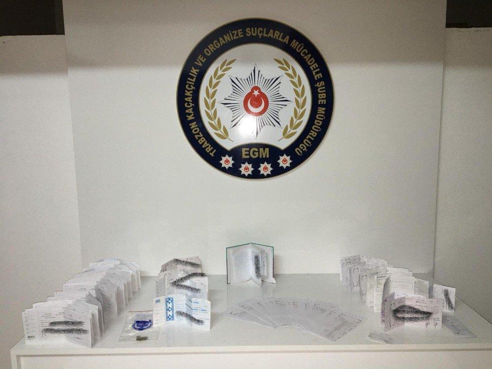 Trabzon Emniyeti'nden Tefeci Operasyonu