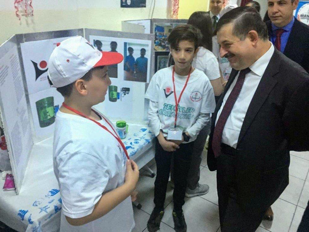 Öğrencilerin Proje Ve Tasarımları Bilim Fuarında Sergilendi
