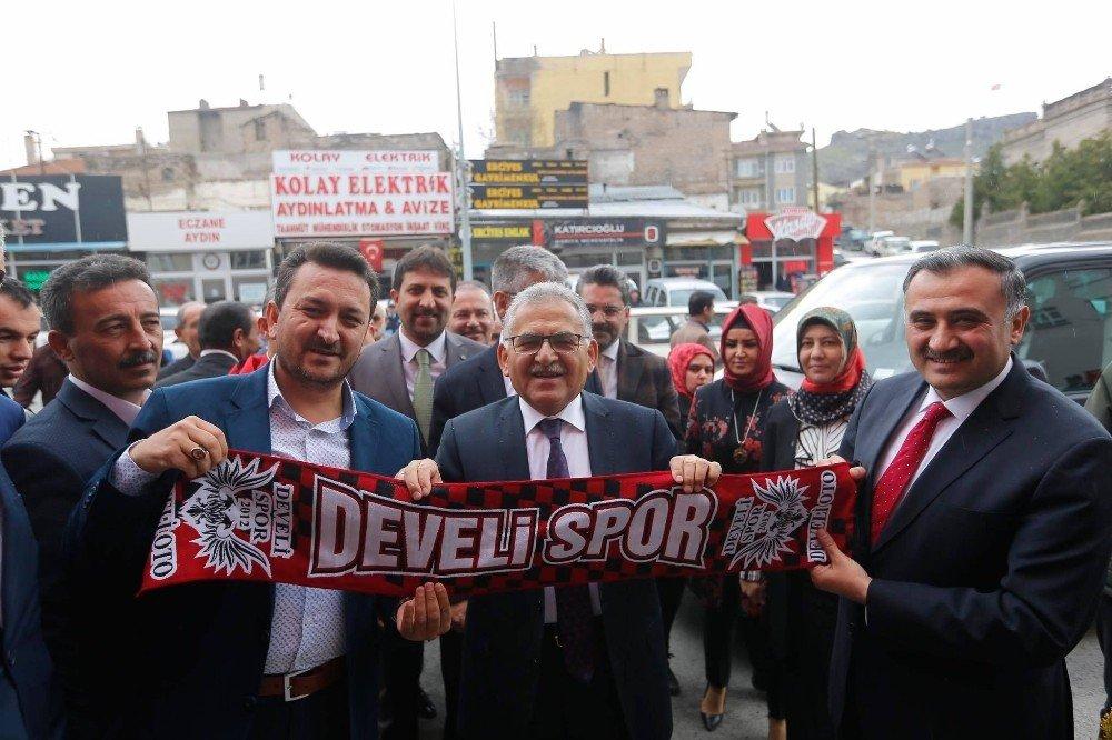 Büyükşehir Belediye Başkanı Büyükkılıç'tan Başkan Cabbar'a Ziyaret