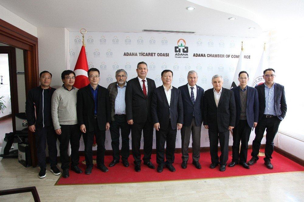 Çin İle Adana Arasında Ticaret Köprüsü Kuruluyor