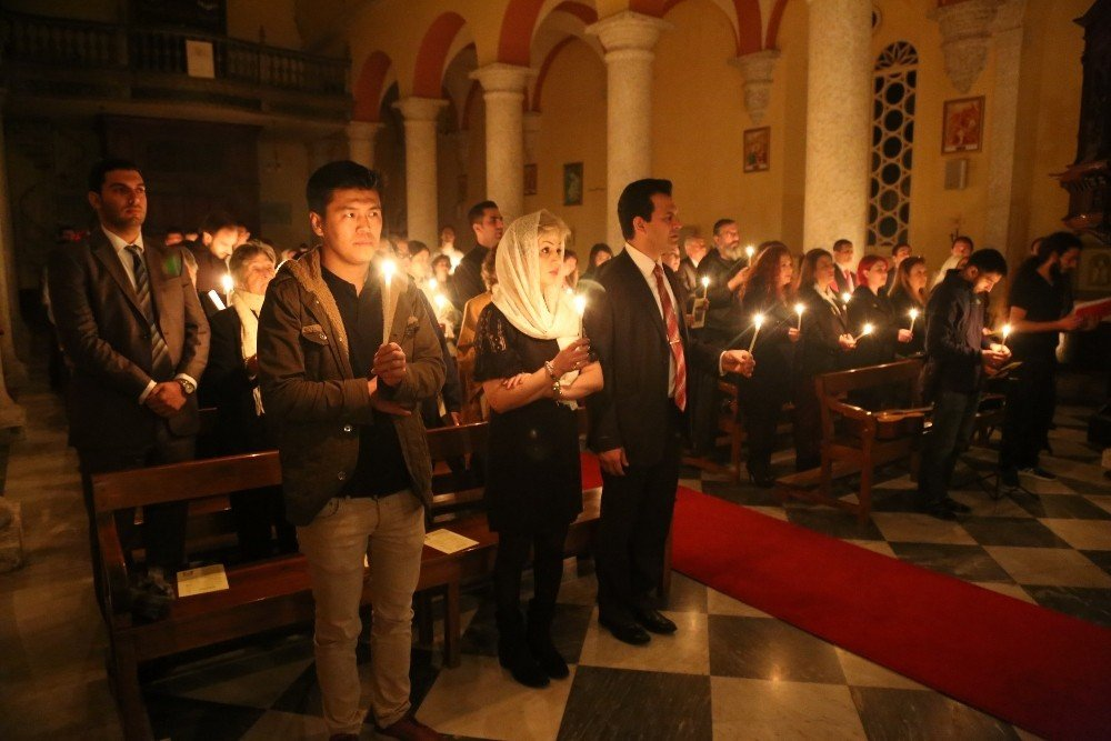 İskenderun'da Paskalya Bayramı Kutlamaları
