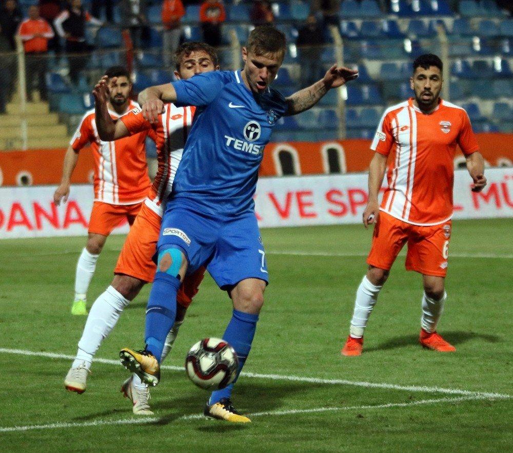 Spor Toto 1. Lig: Adanaspor: 0 - Adana Demirspor: 0 (Maç Sonucu)