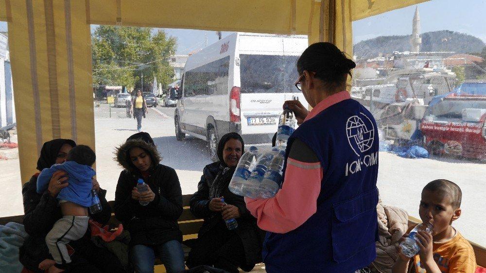 Çanakkale'de 53 Mülteci Yakalandı