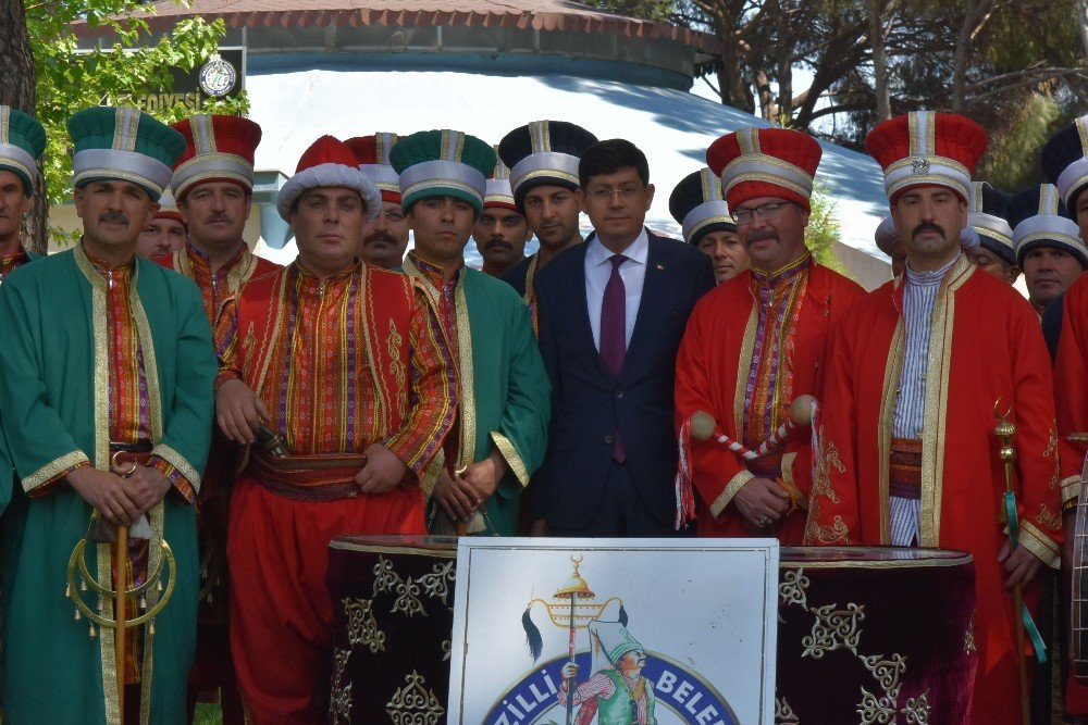 Başkan Özcan Mehter Takımını Ziyaret Etti