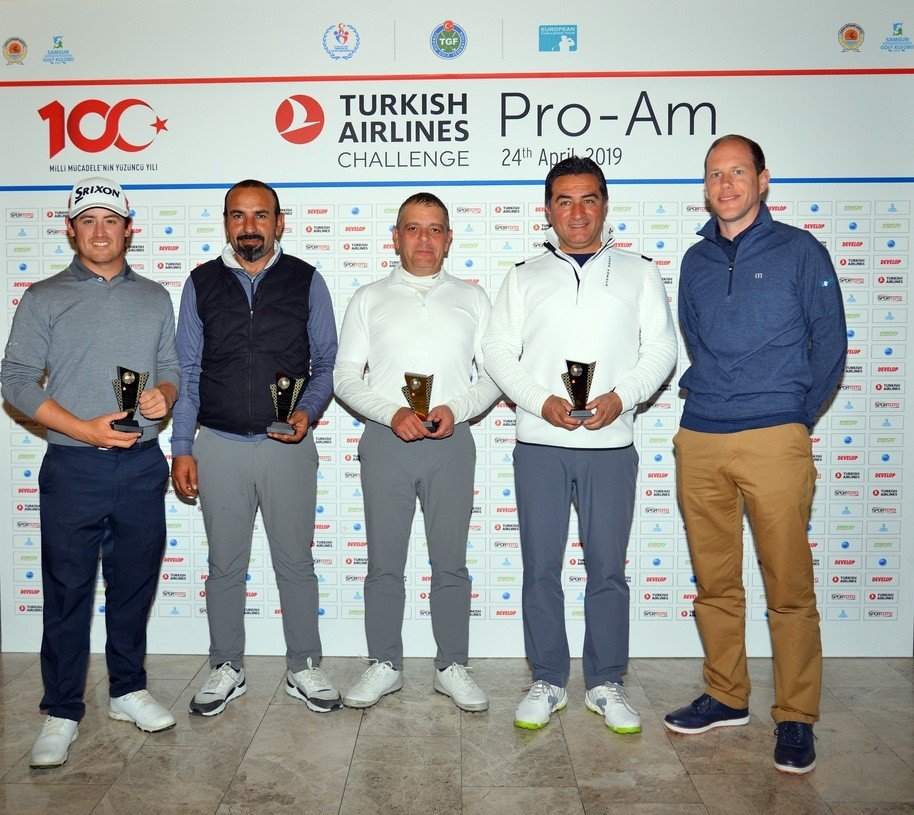 Turkish Airlines Pro-am'in Şampiyonu Kemer Takımı Oldu