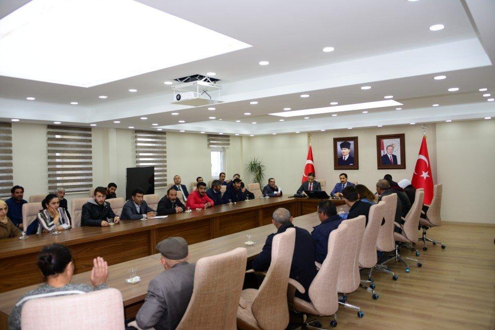 Vali Mustafa Masatlı, Halkla Buluşmalarını Sürdürüyor