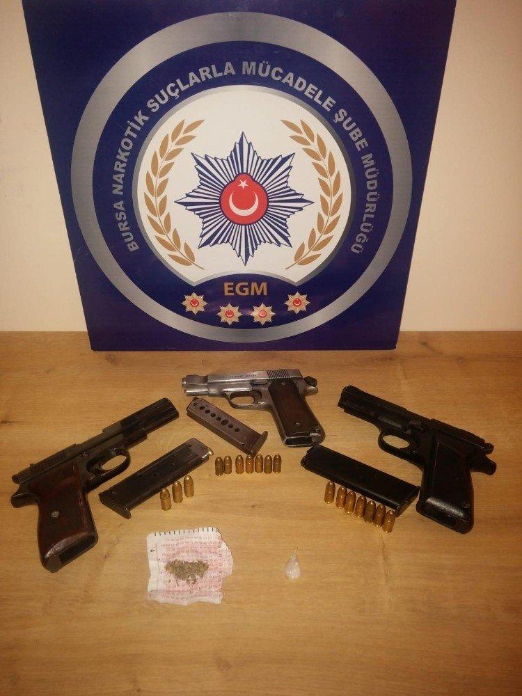 Bursa'da Şafak Vakti Uyuşturucu Operasyonu