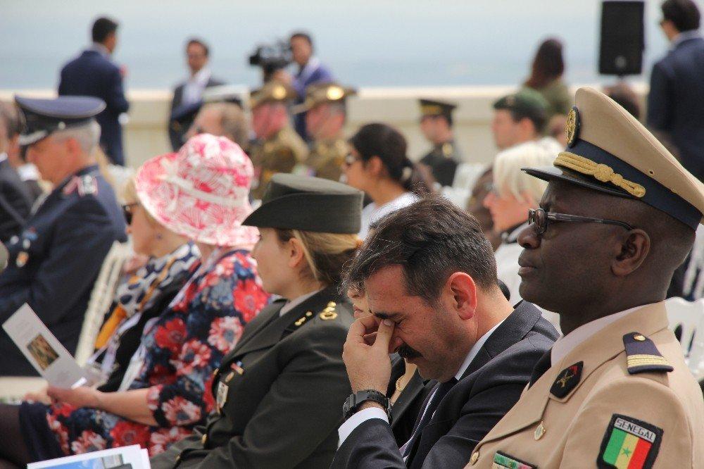 Çanakkale Kara Savaşları'nın 104'üncü Yıl Dönümü Törenle Anıldı