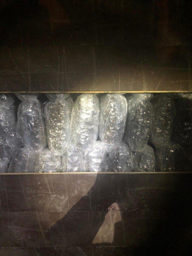 Tır Dorsesinde 450 Kilo Skunk Ele Geçirildi