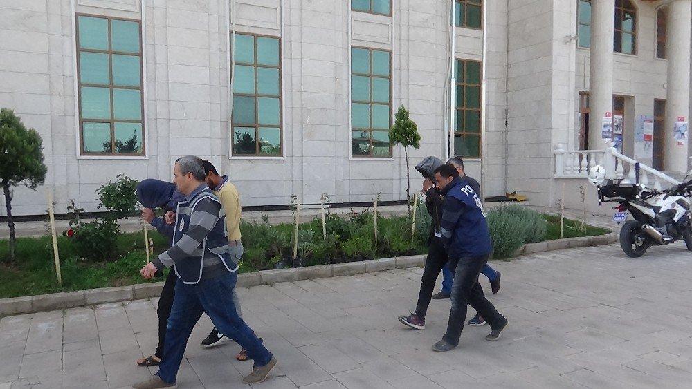 Hatay'da Zeytinyağı Çalan 3 Kişi Yakalandı
