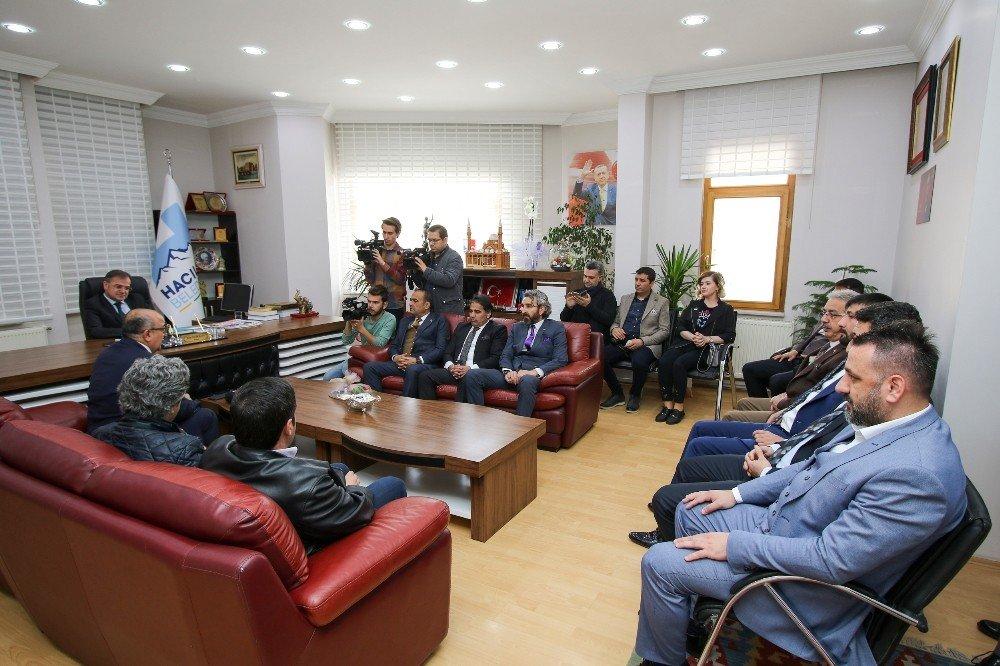 Gazeteciler Cemiyeti'nden Başkan Özdoğan'a Hayırlı Olsun Ziyareti