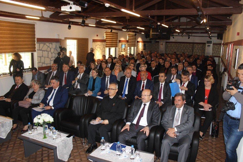Kırklareli'de Yeni Dönemin İlk Muhtarlar Toplantısı Yapıldı