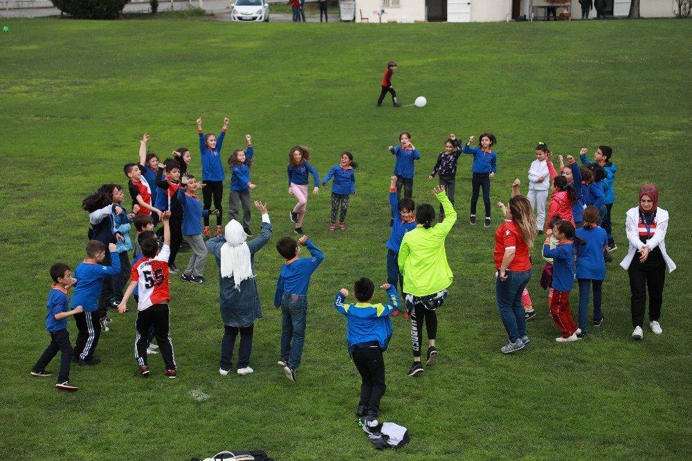 Yılport Samsunspor'da Çocuk Şenliği