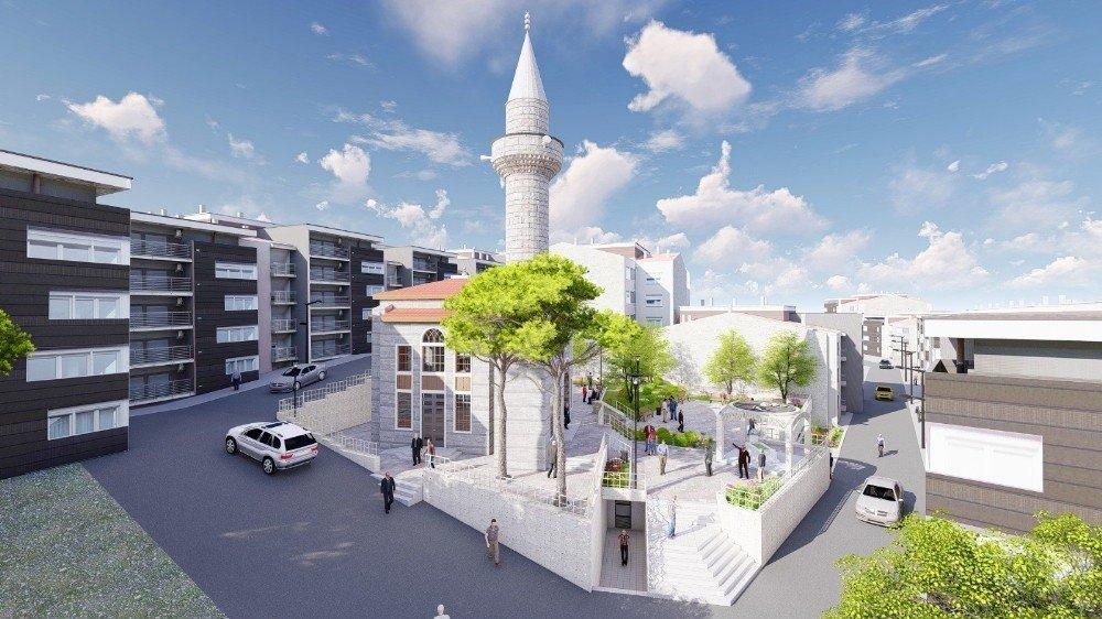 Yiğitbaş Veli Camisi'nin Temeli Törenle Atıldı