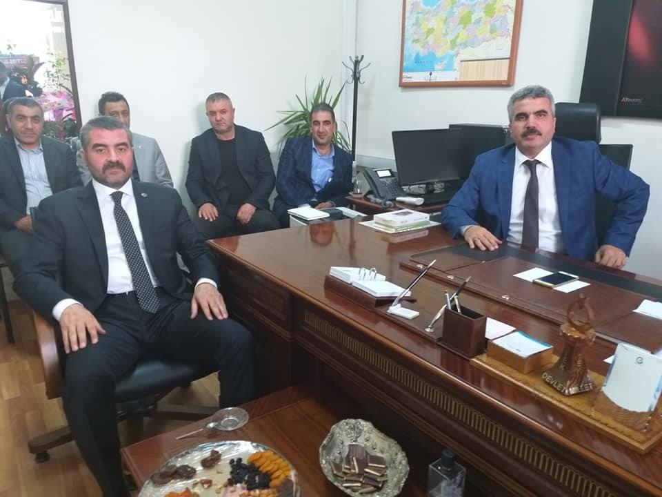 Mhp İl Başkanı Avşar'dan Hayırlı Olsun Ziyareti