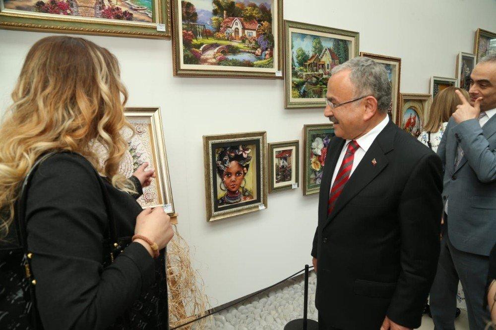 """Başkan Güler: """"Üreten Ordu Modelini Bu Sergide Gördük"""""""