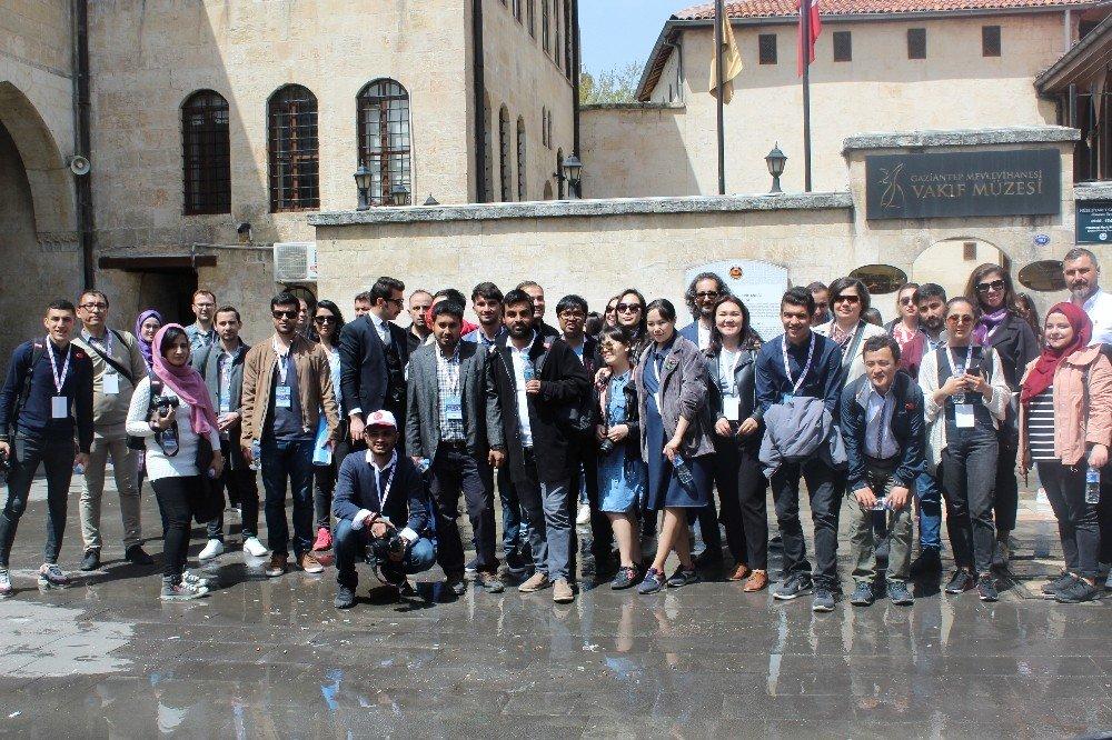 Rtük Çalıştayına Katılacak Öğrencilerden Gaziantep Turu