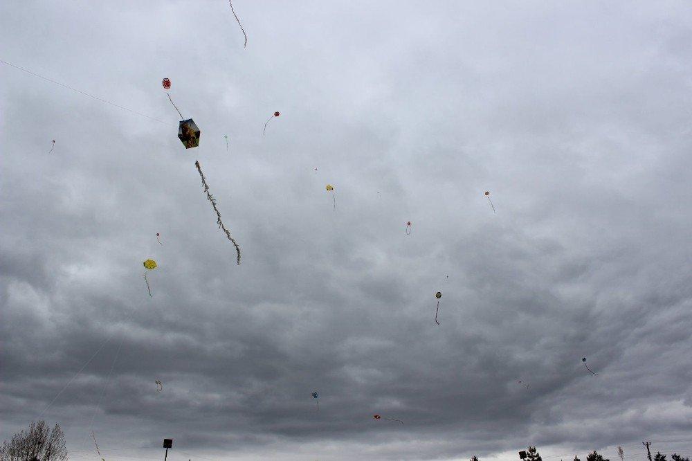 Gökyüzü Uçurtmalarla Renklendi