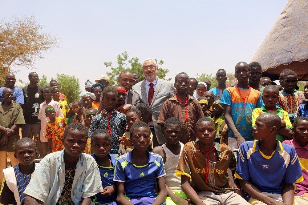 Tika'dan Burkina Faso'ya Kadın Meslek Edinme Merkezi
