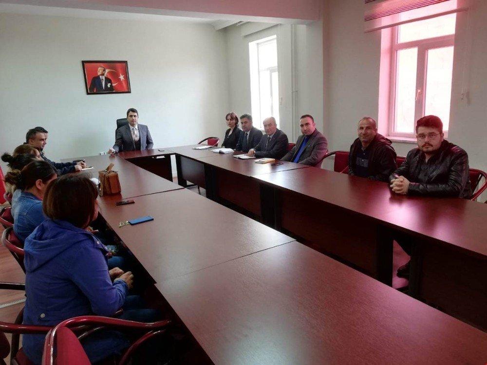 Nazımiye'de Güvenlik Toplantısı