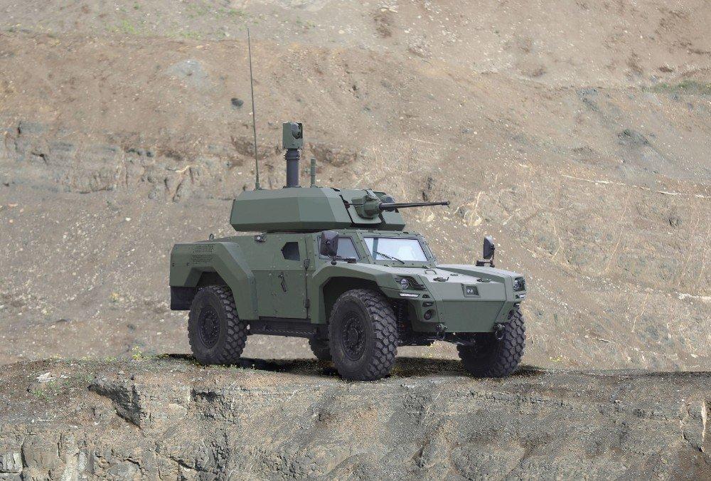 Otokar Türkiye'nin İlk Elektrikli Zırhlı Aracını Üretti