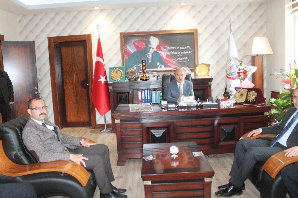 Vali Yaşar Karadeniz'den Tosya Belediyesine Ziyaret