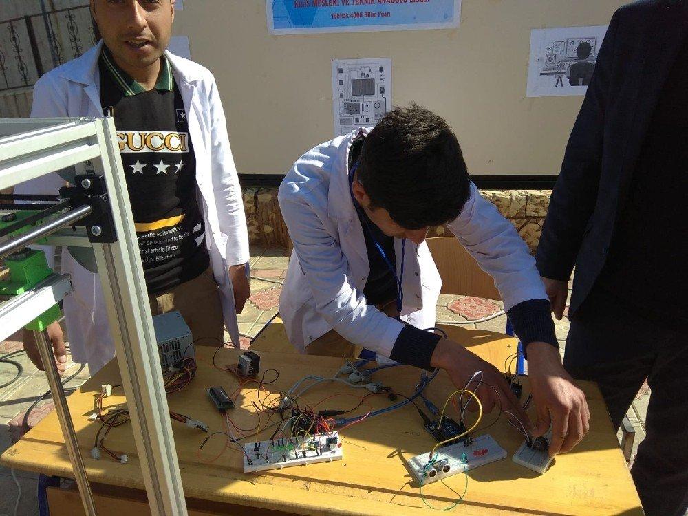 Kilis'e 4006-tübitak Bilim Fuarı Açıldı