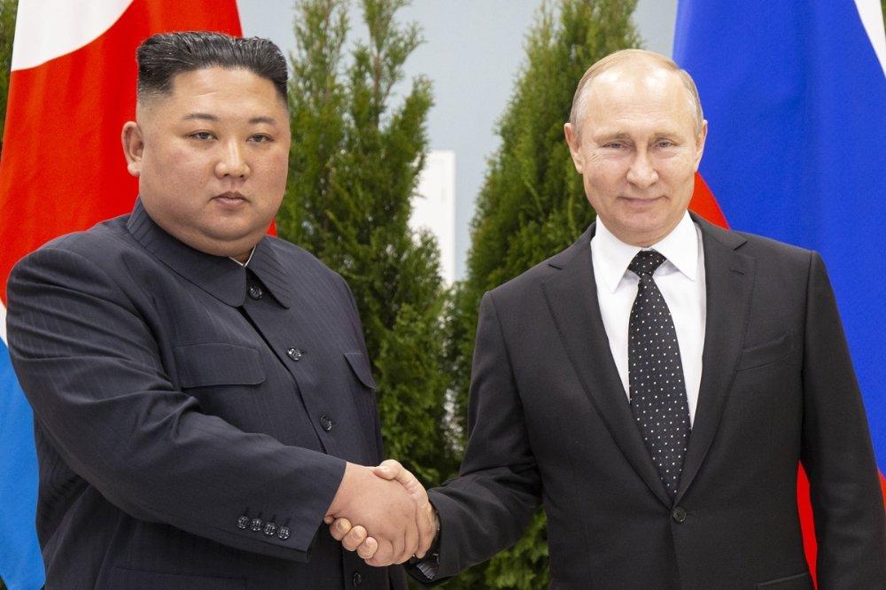 Putin Ve Kim Jong-un Bir Araya Geldi