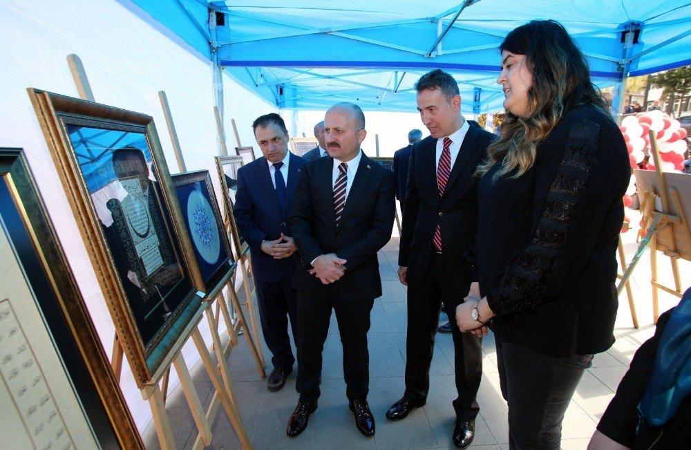Amasya'da Hüsn-i Hat Ve Tezhip Sergisi Açıldı