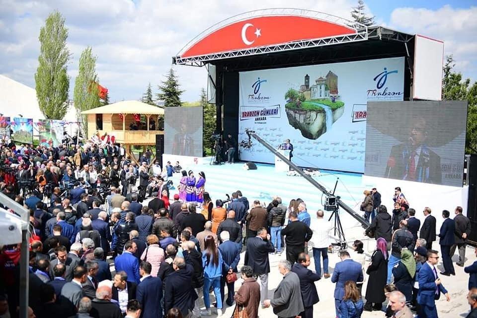 Ankara'daki Trabzon Günleri'ne Trabzon Firmaları Damgasını Vurdu
