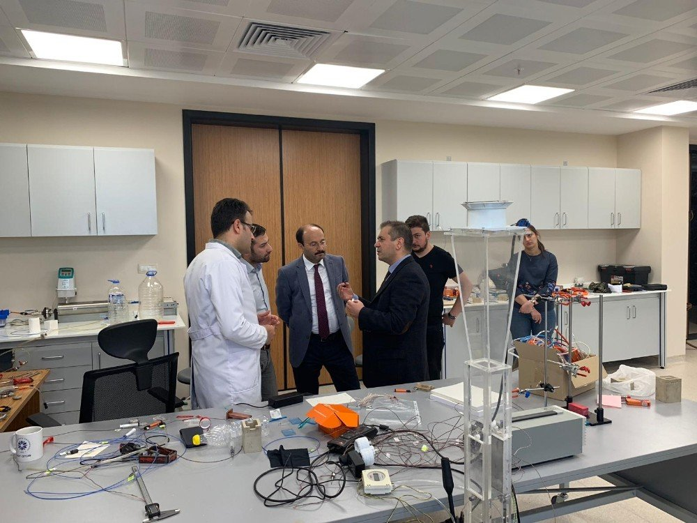 Aselsan Mgeo Mühendislik Grup Başkanı Birol Erentürk'ten Yütam Ziyareti