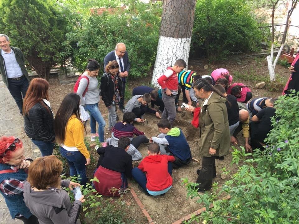 Özel Çocuklardan Arkeopark Etkinliği
