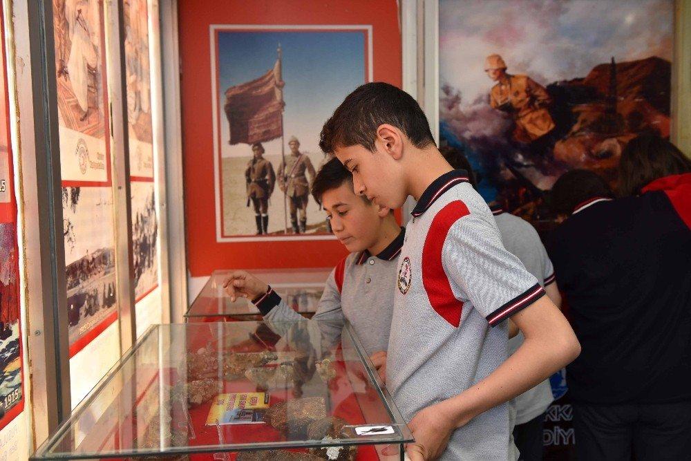 Gezici Çanakkale Müzesi Taşköprülerle Buluştu