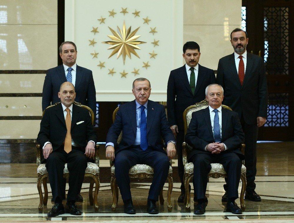 Cumhurbaşkanı Erdoğan, Arjantin Büyükelçisini Kabul Etti