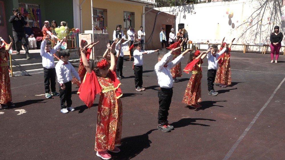 Kulp Anaokulu'ndan Yıl Sonu Sergisi