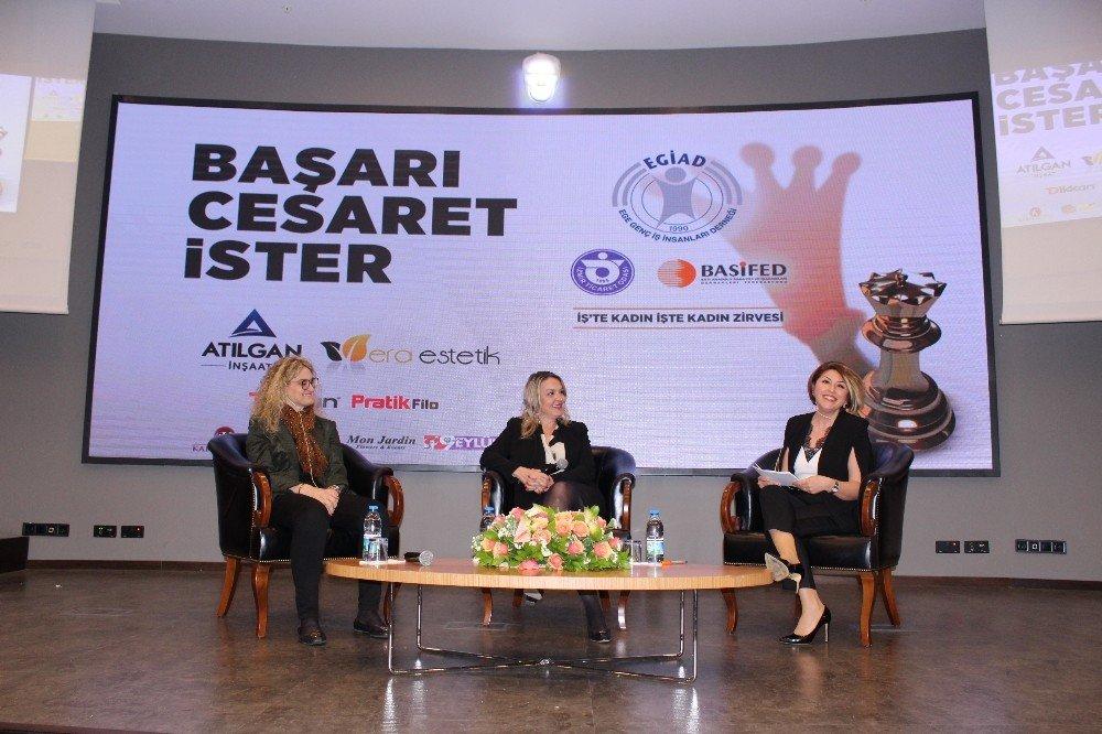 Rol Model Kadınlar 'Kadın Zirvesi'nde Konuştu
