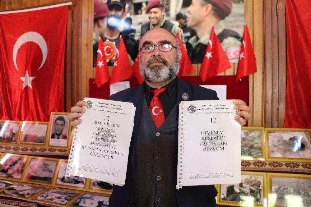 Gazi Ve Şehit Aileleri Derneği Ermeni Arşivini Açtı