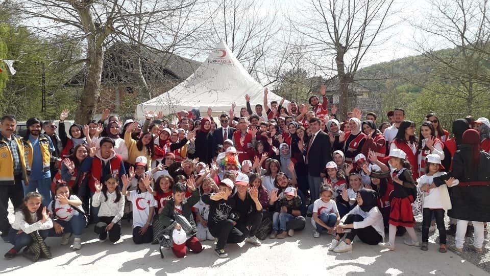 Genç Kızılay'dan 'Çocuk Festivali'