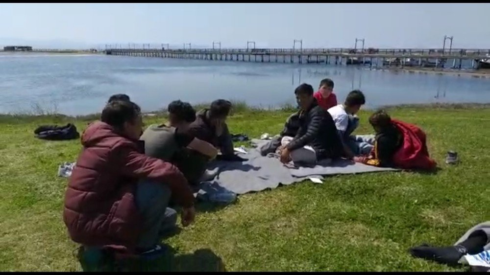 Ayvalık'ta Son Üç Günde 41 Mülteci Yakalandı