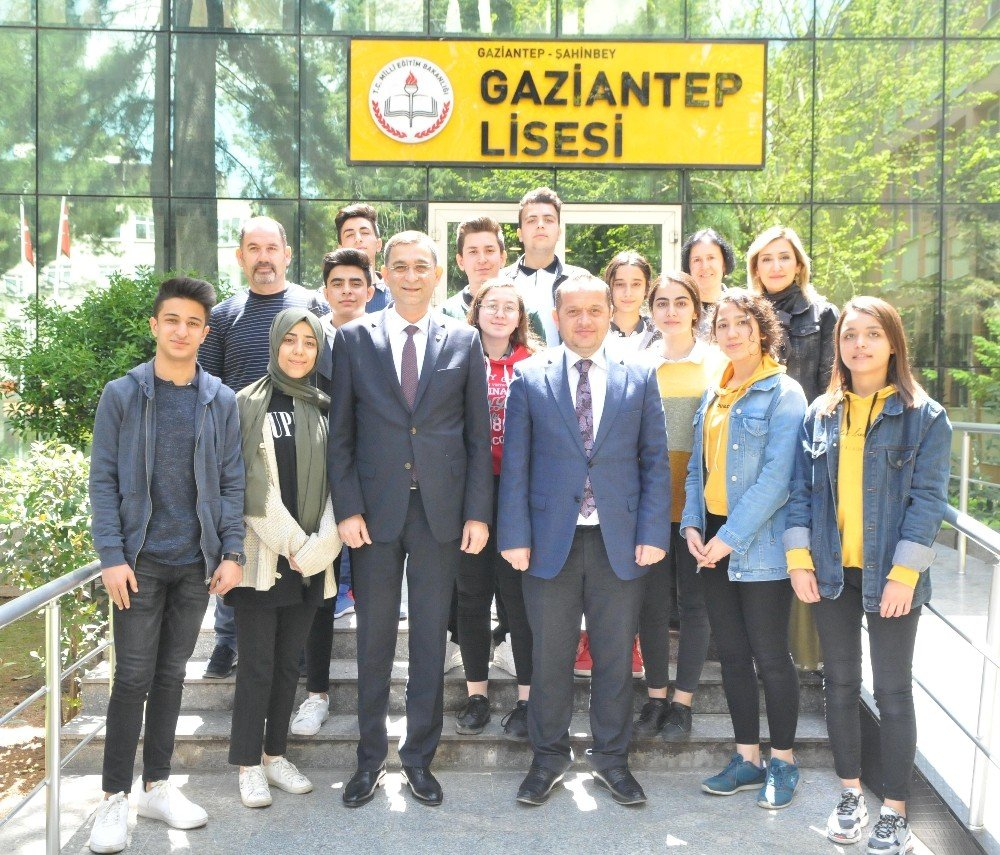 Gso Başkanı Ünverdi'den Lise Öğrencilerine Tüyolar