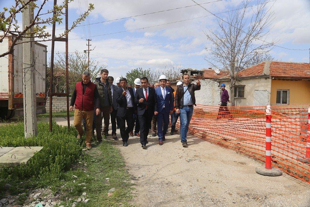 Karaman'da Doğalgaz Çalışması