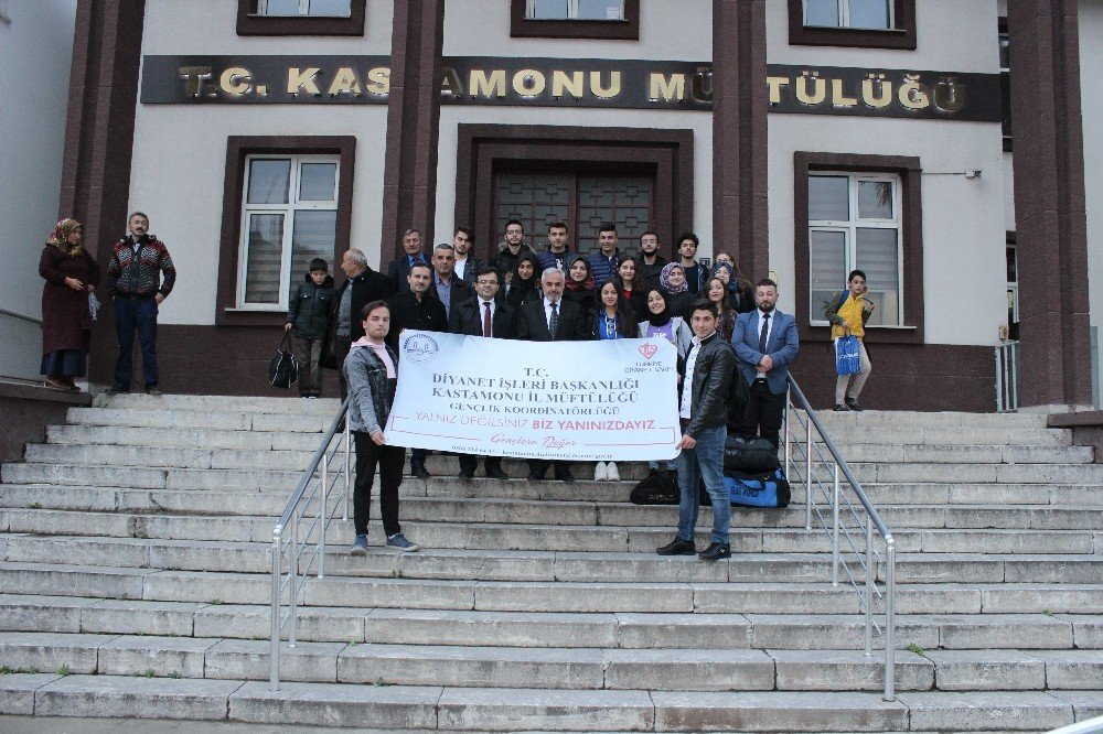 Şiir Okuma Yarışmasında Dereceye Giren Öğrenciler, Çanakkale'yi Gezdi