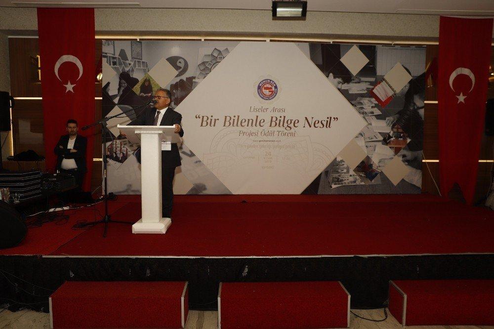 Başkan Büyükkılıç, Eğitim Bir Sendikası'nın Ödül Töreninde Eğitimle İlgili Önemli Mesajlar Verdi
