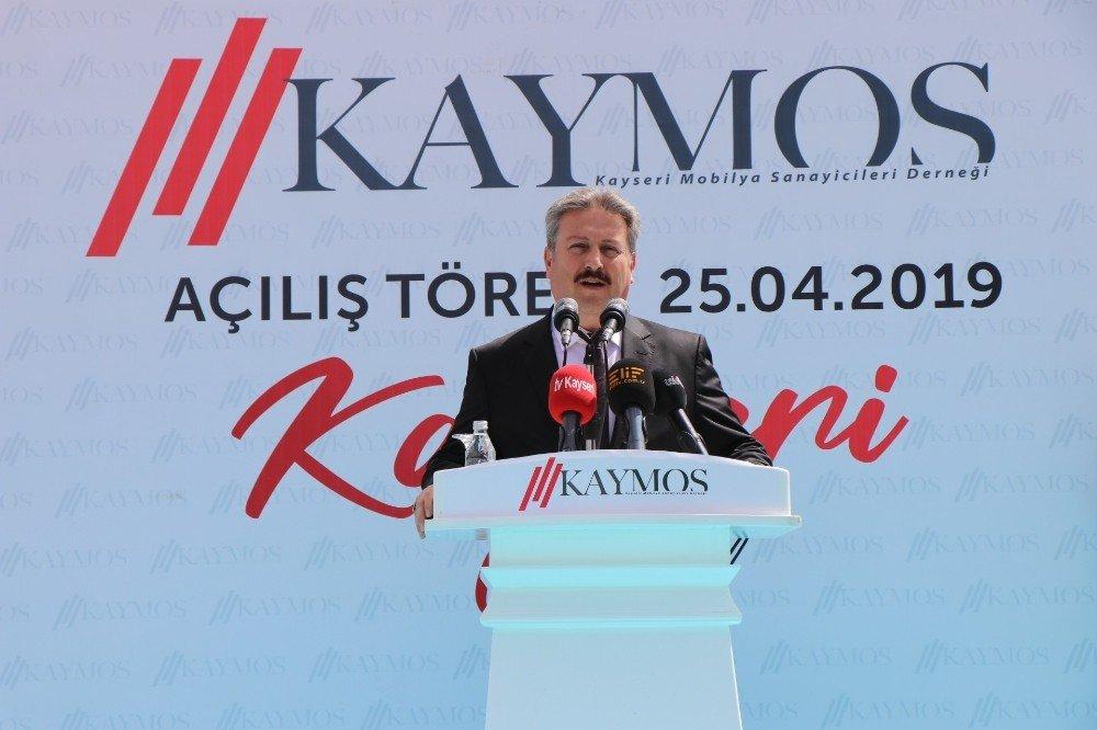 Kaymos'un Yeni Hizmet Binası Törenle Açıldı