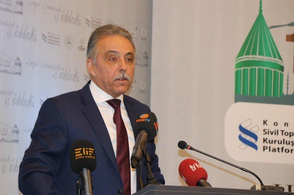 Ufuk Turu Toplantıları 'Sosyal Sorumluluk Ve İş Ahlakı' Başlığıyla Kayseri'de Toplandı